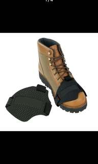 Gear shift shoe protector