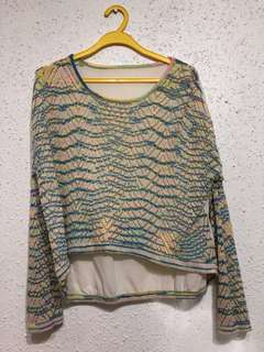 Outer wear- Green top