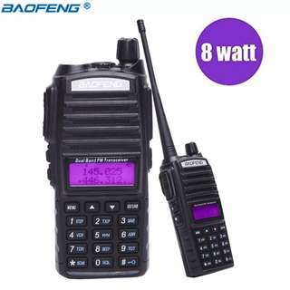 🚚 Baofeng UV-82 analog dual band 2 way CB radio UHF VHF FM walkie talkie