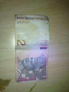 Nak jual duit lama Rm2