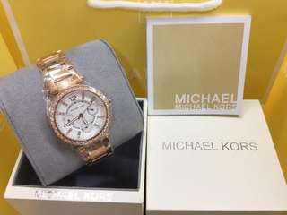 MK AUTHENTIC ROSEGOLD WATCH