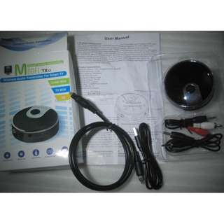 Bluetooth Audio Transmitter . connect to two bluetooth receivers AT SAME TIME