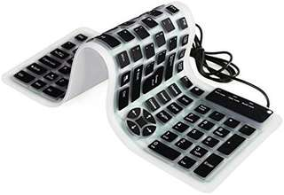 Sillicone roll up keyboard