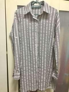 Stripe long shirt