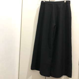 The Editors Market Black Culotte
