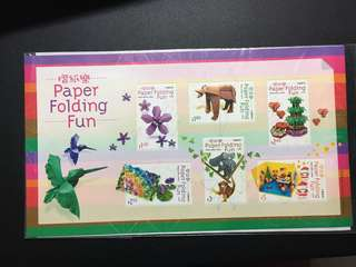 摺紙樂 小型張 郵票