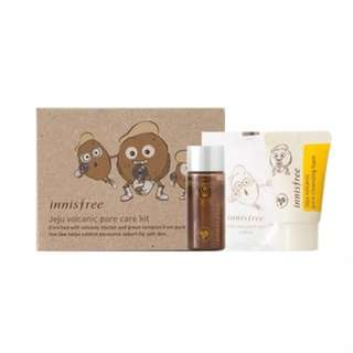 Innisfree Jeju Volcanic Pore Trial Kit