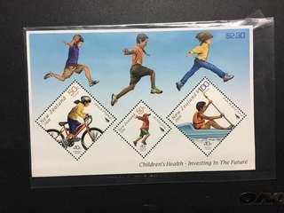 Children's Health 小型張 郵票