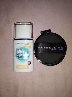 Maybelline White Superfresh Liquid Powder dan Maybelline Super Cushion