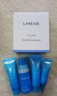 LANEIGE Water Bank Trial Kit 4in1