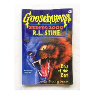 Preloved Goosebumps Series 2000: Cry of the Cat