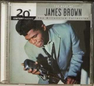 arthcd JAMES BROWN The Best Of - The Millennium Collection CD