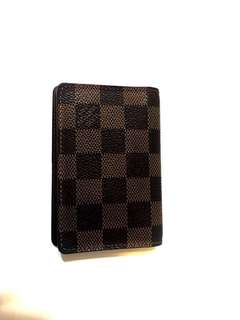 Louis Vuitton Damier Ebene Pocket Organizer