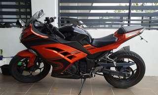 Kawasski Ninja 250R 2014 Special edition