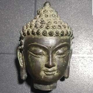 Just For Sharing.  Bronze Buddha Head