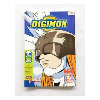 Preloved Komik Digimon Adventure Season 1 Full Color Comic #09