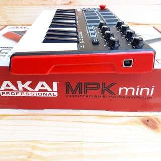 Akai MPK Mini Mk2 MIDI USB Compact Controller