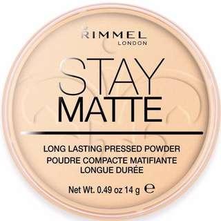 BN Rimmel London Stay Matte Pressed Powder