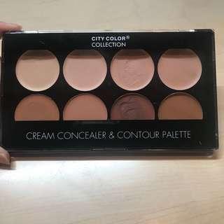 City Color Cream Concealer&Contour Pallete