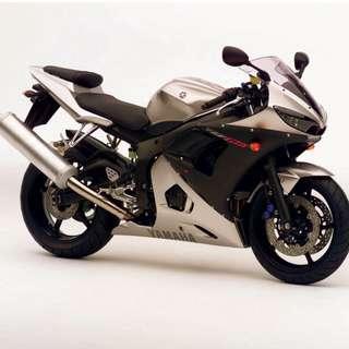 Yamaha YZF R6 Standard Track Bike