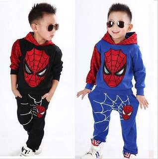Spiderman Hooded Suit for Kids