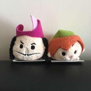 (包郵) *全新* Disney Peter Pan Hook Tsum Tsum
