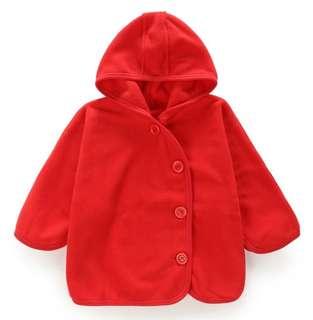 Fleece Baby Jacket