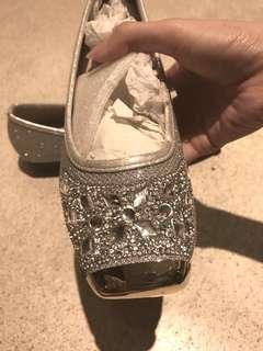Silver Blink Flatshoes
