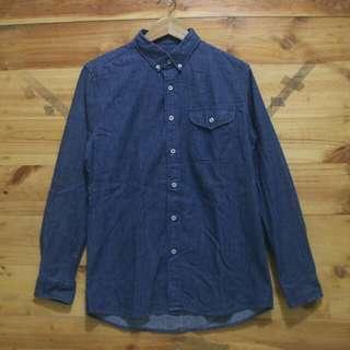 Twentysecond button down denim longsleeve shirt original