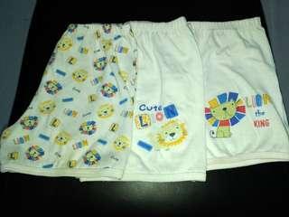 Baby Shorts Set - Lion