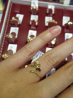 DUBAI Dragonfly Gold Ring