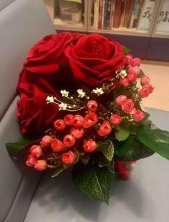 結婚 褂 中式 花球 Bouquet