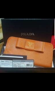 Brand New Authentic Prada Long Wallet