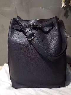正品 90%新 Hermes So Kelly 26 黑色銀扣上膊袋