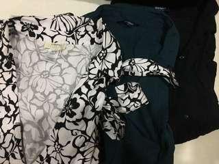 Bundle #4- 1 skirt (new) + 3 Tops XL / Size 16