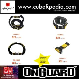 Great Singapore Sales For Onguard Lock