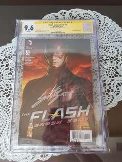 Flash Grant Gustin CGC SS 9.6