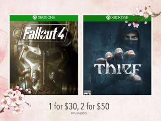 🆕Xbox One Games - Thief & Fallout 4
