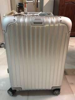 Original Brand New Rimowa Topas Cabin Multiwheel 34L Silver - Cabin Sized Luggage