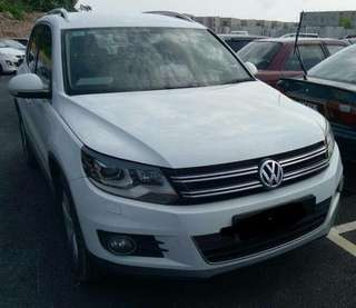 VW tiguan 1.4turbo 2014 sambung bayar