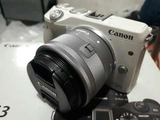 Canon eos m3 full set like a new