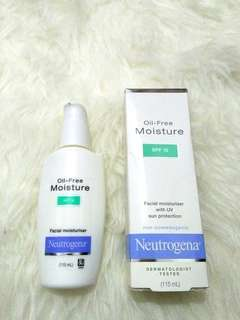Neutrogena Oil-free mouisture