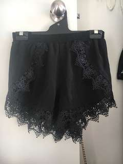 Mike & gala lace shorts