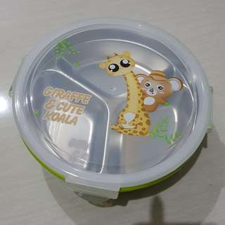 Lunch Box stainless sekat 3