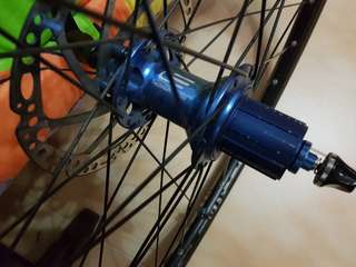 Mavic M319 Disc wheelset 700C