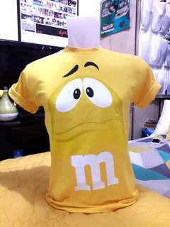 Yellow M&M T-Shirt (Original)