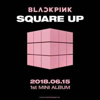[PREORDER ITEM] BlackPink - 1st Mini Album Square Up