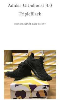 Adidas Ultraboost 4.0 Tripleblack 100% ORIGINAL BASF ADIDAS BOOST