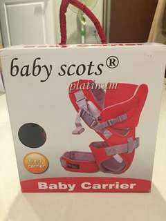 Baby scots baby carries gendongan bayi