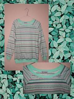 Tribal Pastel Sweater Nevada